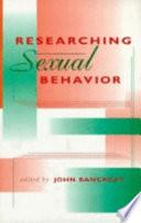 Researching Sexual Behavior Book