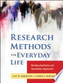 """Research Methods for Everyday Life: Blending Qualitative and Quantitative Approaches"" by Scott W. VanderStoep, Deidre D. Johnson"