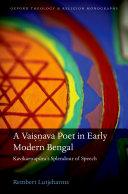A Vaisnava Poet in Early Modern Bengal [Pdf/ePub] eBook