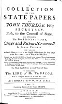 A Collection of the State Papers of John Thurloe ...: 1655 [i.e. May 1656 to January 1657