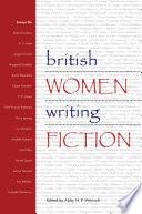 British Women Writing Fiction Book
