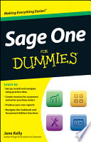 Sage One For Dummies Book PDF