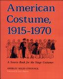 American Costume 1915-1970 Pdf/ePub eBook