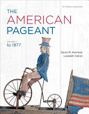 The American Pageant  Volume 1 Book PDF