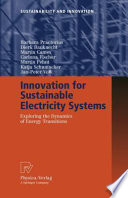 Innovation for Sustainable Electricity Systems Book