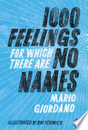 1 000 Feelings For Which There Are No Names Book