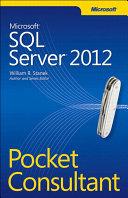 Microsoft Sql Server 2012 Pocket Consultant Book PDF