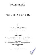 Spiritualism  and the Age We Live in Book PDF