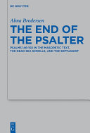 The End of the Psalter