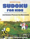 Sudoku for Kids Vol  1
