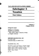 Subchapter S Taxation
