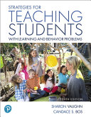 Strategies for Teaching Students With Learning and Behavior Problems   Mylab Education With Pearson Etext Access Card