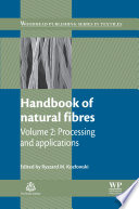 Handbook Of Natural Fibres Book PDF