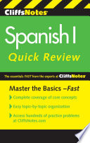 Cliffsnotes Spanish I Quick Review 2nd Edition