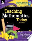 Teaching Mathematics Today 2nd Edition Book PDF