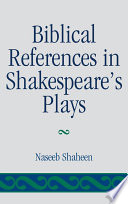 Biblical References In Shakespeare S Plays