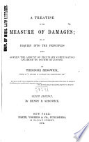 A Treatise On The Measure Of Damages Book PDF