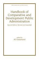 Handbook of Comparative and Development Public Administration [Pdf/ePub] eBook