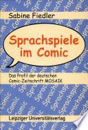 Sprachspiele im Comic