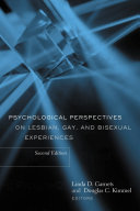 Psychological Perspectives on Lesbian, Gay, and Bisexual Experiences