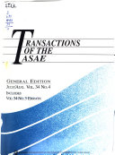 Transactions of the ASAE