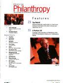 Advancing Philanthropy