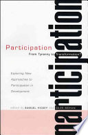 Participation  From Tyranny to Transformation  Book