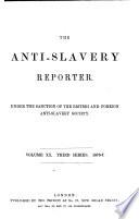 The Anti slavery Reporter Book PDF