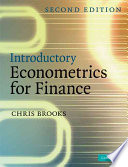 Introductory Econometrics For Finance Book PDF
