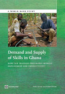 Demand and Supply of Skills in Ghana