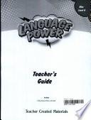 Language Power: Grades 6-8 Level A Teacher's Guide