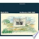 Mario Botta, Architecture, 1960-1985