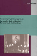 Personality Cults In Stalinism