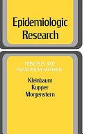 Epidemiologic Research