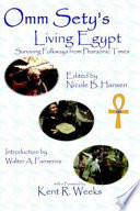 Omm Sety's Living Egypt  : Surviving Folkways from Pharaonic Times