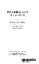 The Spiritual Value of Gem Stones Book PDF
