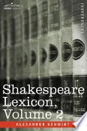 Shakespeare Lexicon