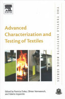 Cover image of Advanced characterization and testing of textiles