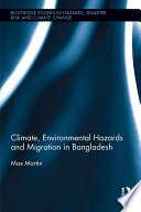 Climate  Environmental Hazards and Migration in Bangladesh Book