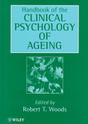 Handbook Of Clinical Psychology Of Ageing