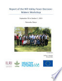 Review of the Rift Valley fever outputs of the HEALTHY FUTURES project and their implications for decision-making and action
