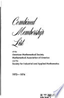 Combined Membership List
