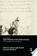 Legal Histories Of The British Empire