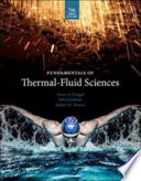 Fundamentals of Thermal-Fluid Sciences (SI Units)