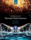 Fundamentals of Thermal Fluid Sciences  SI Units