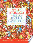 Applied Psychology in Human Resource Management,