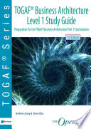 TOGAF   Business Architecture Level 1 Study Guide