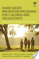 Family Based Prevention Programs for Children and Adolescents