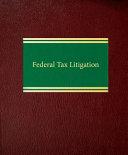 Pdf Federal Tax Litigation