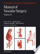 Manual Of Vascular Surgery Book PDF